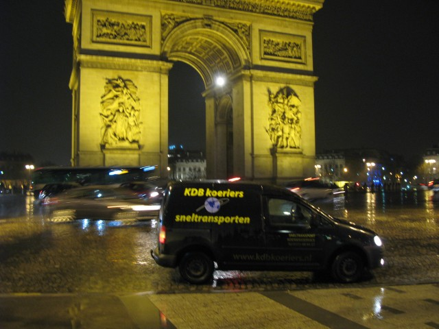 Place Charles de Gaulle Paris sneltransport