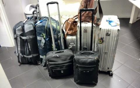 bagage vooruit sturen